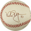 "Autographs:Baseballs, Mark McGwire ""70"" Single Signed Baseball...."