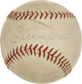 Autographs:Baseballs, 1963 New York Yankees Team Signed Baseball. ...