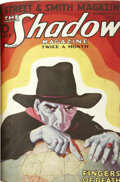 Entertainment Collectibles:Comic Character, The Shadow (Street & Smith) March-May 1933 BoundVolume....