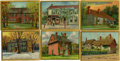 Non-Sport Cards:General, 1911 T69 Historic Homes Collection (19). ...