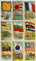 Non-Sport Cards:General, 1909-11 T59 Flags of All Nations Collection (68). ...