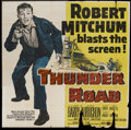 "Movie Posters:Crime, Thunder Road (United Artists, 1958). Six Sheet (81"" X 81""). Crime...."