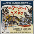 "Movie Posters:Fantasy, The 7th Voyage of Sinbad (Columbia, 1958). Six Sheet (81"" X 81"").Fantasy...."