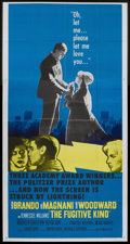 "Movie Posters:Drama, The Fugitive Kind (United Artists, 1960). Three Sheet (41"" X 81""). Drama...."