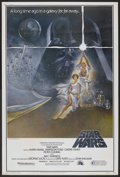 "Movie Posters:Science Fiction, Star Wars (20th Century Fox, 1977). Poster (40"" X 60"") Style A. Science Fiction...."