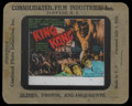 "Movie Posters:Horror, King Kong Lot (RKO, 1933). Glass Slides (2) (3.25"" X 4"").Horror.... (Total: 2 Items)"