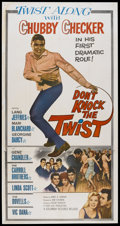 """Movie Posters:Rock and Roll, Don't Knock the Twist (Columbia, 1962). Three Sheet (41"""" X 81"""").Rock and Roll...."""
