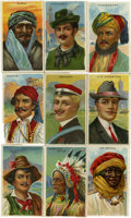 Non-Sport Cards:General, 1909-11 T113 Types of Nations Collection (31). ...
