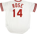 Autographs:Jerseys, Pete Rose Signed Reds Jersey. ...
