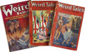Books:Periodicals, Weird Tales (Popular Fiction, 1924-53) Group of 59....