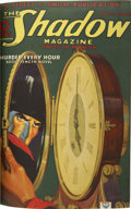 Entertainment Collectibles:Comic Character, The Shadow (Street & Smith) June-August 1935 BoundVolume....