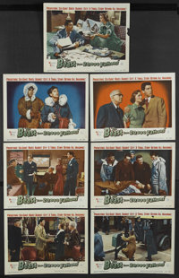 """The Beast From 20,000 Fathoms (Warner Brothers, 1953). Lobby Cards (7) (11"""" X 14""""). Science Fiction. Starring..."""