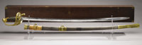 Major General William Mahone's Presentation Sword The Last CSA Sword A magnificently detailed presentation sword, histor...