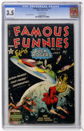 Golden Age (1938-1955):Science Fiction, Famous Funnies #212 (Eastern Color, 1954) CGC VG- 3.5 Off-whitepages....