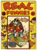 Golden Age (1938-1955):Funny Animal, Real Funnies #1 (Nedor Publications, 1943) Condition: VF....