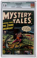 Golden Age (1938-1955):Horror, Mystery Tales #1 (Atlas, 1952) CGC Qualified FN/VF 7.0....