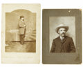 Military & Patriotic:Civil War, Two Post-War Images of 4th Virginia Cavalry Luminaries. The first is a photograph of Brigadier General William Henry Fitzhug... (Total: 2 )
