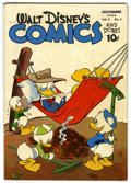 Golden Age (1938-1955):Cartoon Character, Walt Disney's Comics and Stories #50 (Dell, 1944) Condition:Qualified FN+....