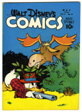 Golden Age (1938-1955):Cartoon Character, Walt Disney's Comics and Stories #68 (Dell, 1946) Condition:FN-....