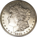 Proof Morgan Dollars: , 1882 $1 PR63 Cameo NGC. Light hairlines explain the PR63 grade on this deeply mirrored proof ...