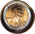 Errors: , 1996 1C Lincoln Cent--Deep Die Cap Obverse--MS64 Red PCGS. A struck cent (not the present piece) failed to eject from the d...