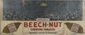 Baseball Collectibles:Others, 1927 Gene Tunney vs. Jack Dempsey Beech Nut Triptych AdvertisingSign. Here we offer a massive (2' x 5') portion of the 192...