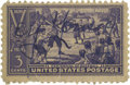 Autographs:Others, Vintage Cy Young Signed Stamp. Vintage stamp released in 1939 tocommemorate the centennial of baseball boasts a 10/10 foun...
