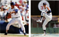 """Autographs:Photos, Nolan Ryan Signed Photographs Lot of 2. Pair of 11x14"""" photos fromNolan's time with the Astros and Rangers. Both in pitchi..."""