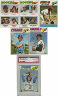 Baseball Cards:Sets, 1977 Topps Baseball Complete Set (660). The #144 Bruce Sutter card has been graded PSA NM-MT 8. Other highlights includ...