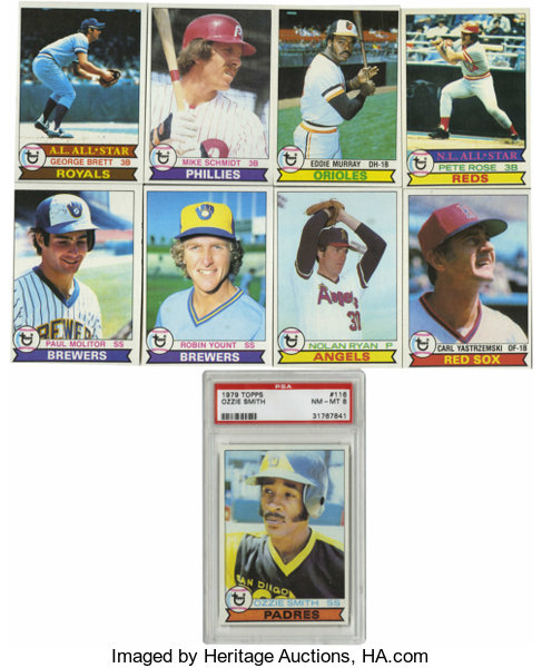 1979 Topps Baseball Complete Set 727 Set Includes Both