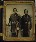 Military & Patriotic:Civil War, Confederate General Robert D. Lilley - Commanded Jubal Early's Brigade - Cased 1/2 Plate Ambrotype Augusta County, Virginia...