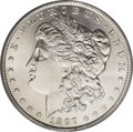 Morgan Dollars: , 1897-O $1 MS63 PCGS. This date is characterized by a high mintage and low survival, a conditi...