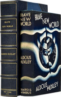 Books:First Editions, Aldous Huxley. Brave New World. London: Chatto & Windus,1932....