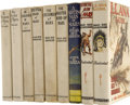 Books:Fiction, Edgar Rice Burroughs. Nine Mars Titles,... (Total: 9 Items)