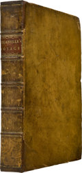 Books:First Editions, Lewis de Bougainville [Louis-Antoine de Bougainville]. A Voyageround the World. Performed by Order of His Most Christia...