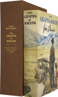 Books:First Editions, John Steinbeck. The Grapes of Wrath. New York: The VikingPress, [1939]....