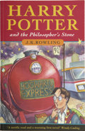 Books:First Editions, J. K. Rowling. Harry Potter and the Philosopher's Stone. [London]: Bloomsbury, [1997]. . ...