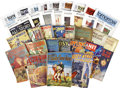 Books:Periodicals, Assorted Sci-Fi Pulps and Magazines Group (1927-94)....