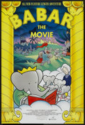 "Movie Posters:Animated, Babar: The Movie (New Line, 1989). One Sheet (27"" X 40""). Animated...."