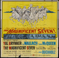 """Movie Posters:Western, The Magnificent Seven (United Artists, 1960). Six Sheet (81"""" X 81""""). Western...."""