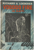 Books:First Editions, Richard A. Loederer. Voodoo Fire in Haiti. New York: TheLiterary Guild, 1935....