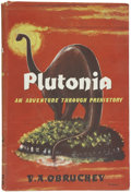 Books:First Editions, V. A. Obruchev. Plutonia, An Adventure Through Prehistory.London: Lawrence & Wishart, 1957....