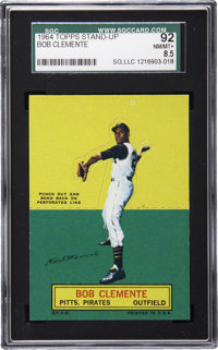 1964 Topps Stand-up Roberto Clemente SGC 92 NM/MT+ 8.5