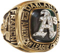 Baseball Collectibles:Others, 1988 Oakland Athletics A.L. Championship Ring....