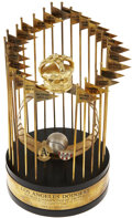 Baseball Collectibles:Others, 1988 Los Angeles Dodgers World Championship Trophy Presented toMike Sharperson....