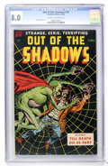 Golden Age (1938-1955):Horror, Out Of The Shadows #10 (Standard, 1953) CGC VF 8.0 Off-white towhite pages....