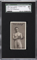Boxing Cards:General, 1886 N167 Old Judge Jem Smith SGC 40 VG 3....