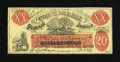 Confederate Notes:Group Lots, XX-1/C1 $20 Female Riding Deer Bogus Note.. ...