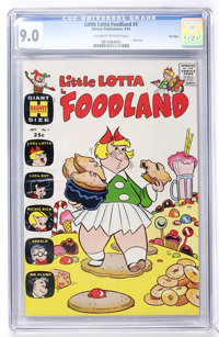 Little Lotta Foodland #1 File Copy (Harvey, 1963) CGC VF/NM 9.0 Off-white to white pages