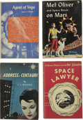 Books:First Editions, Lot of Four Science Fiction Titles From Gnome Press,... (Total: 4Items)